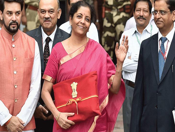सीतारमण यांनी परंपरा मोडीत काढत 'फोल्डर'मध्ये आणला अर्थसंकल्प, आतापर्यंत सुटकेसमध्ये आणला जायचा|देश,National - Divya Marathi