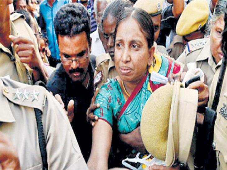 माजी पंतप्रधान राजीव गांधी हत्या प्रकरण:  जन्मठेपेची शिक्षा भोगणाऱ्या नलिनीला मुलीच्या विवाहासाठी महिन्याचा पॅरोल देश,National - Divya Marathi
