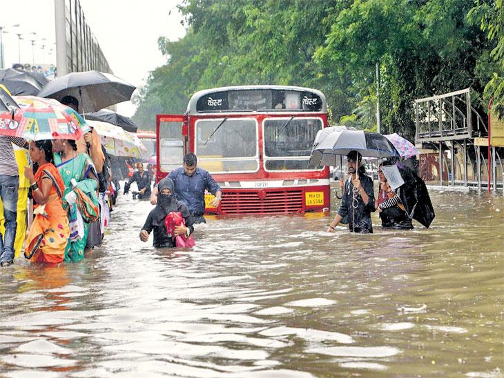 १४ वर्षे, २००० मृत्यू, २८०० कोटी रु. खर्च; तरीही प्रत्येक पावसाळ्यात का बुडते मुंबई?|मुंबई,Mumbai - Divya Marathi
