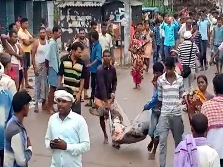 लग्नादरम्यान झोपडीत घुसला भरधाव ट्रक, जेवण करणाऱ्या वऱ्हाडींना चिरडले; लहान मुलीसह 8 जणांचा मृत्यू, 5 गंभीर जखमी|देश,National - Divya Marathi