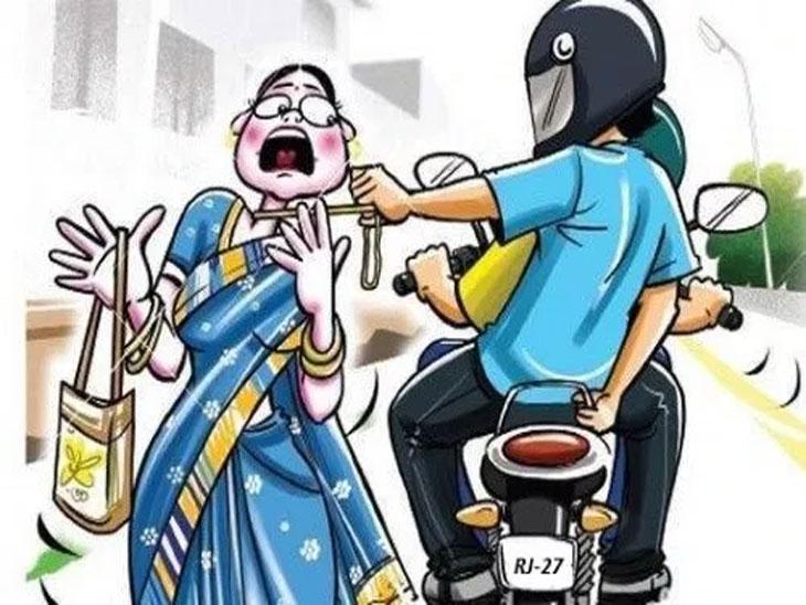 चोरट्यांनी महिलेला तोंड दाबुन लाथा-बुक्क्यांनी केली मारहाण, नंतर अंगावरील दागिणे हिसकावून केला पोबारा|पुणे,Pune - Divya Marathi