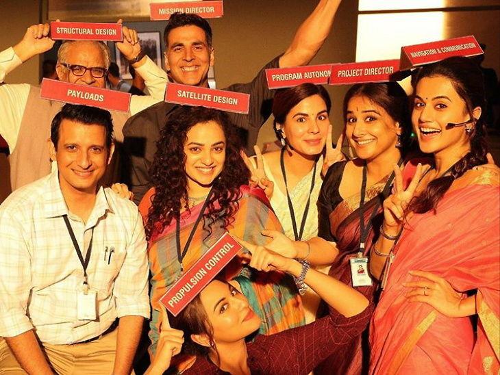 अशक्य स्वप्न पूर्ण करण्याची कहाणी आहे 'मिशन मंगल', अक्षय म्हणाला - 'संपूर्ण जगाला सांगा कॉपी दॅट'  - Divya Marathi