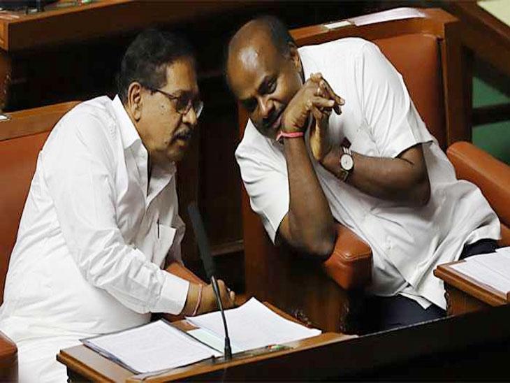 कर्नाटक : कुमारस्वामी सरकारची आज बहुमत चाचणी; १६ आमदार सभागृहात न आल्यास सरकार गडगडणार|देश,National - Divya Marathi