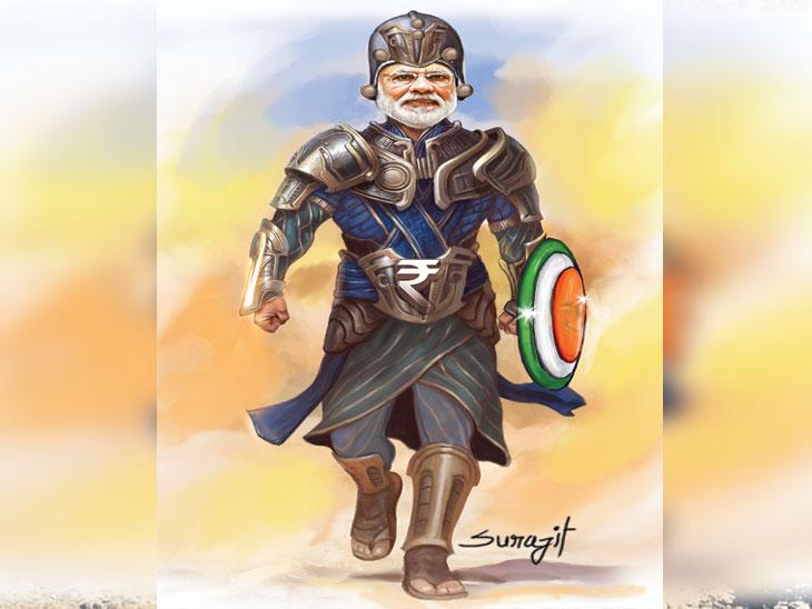 जीडीपी ९%, निर्यात १२% झाली तर पूर्ण होईल 'द ग्रेट इंडियन ड्रीम' देश,National - Divya Marathi