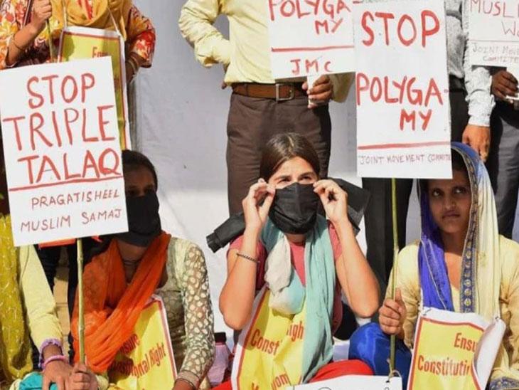 तीन तलाक गुन्हाच :  विधेयक राज्यसभेतही मंजूर, राष्ट्रपतींची मंजुरी शिल्लक देश,National - Divya Marathi