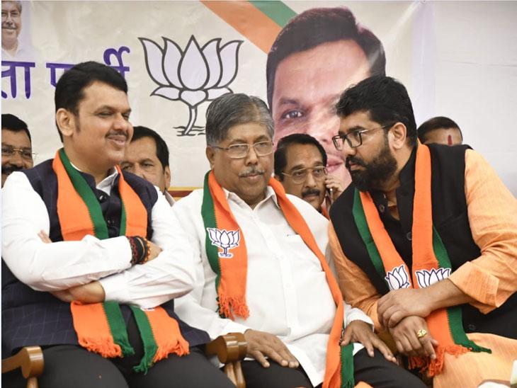 MahaElection: शिवेंद्रराजे भोसले, पिचड पिता-पुत्रांसह काँग्रेस-राष्ट्रवादीच्या 4 आमदारांनी केला भाजपात प्रवेश| - Divya Marathi