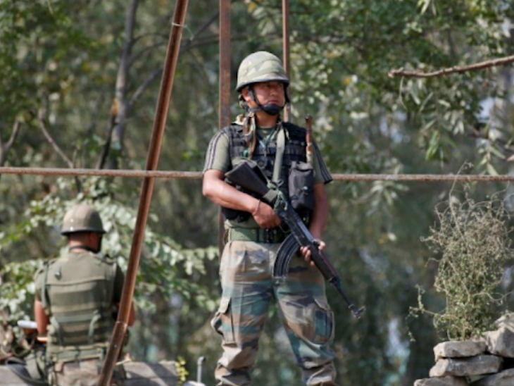 लष्कराने घुसकोरी करणाऱ्या तीन दहशतवाद्यांना घातले कंठस्नान, चमकित 5 नागरिक जखमी|देश,National - Divya Marathi