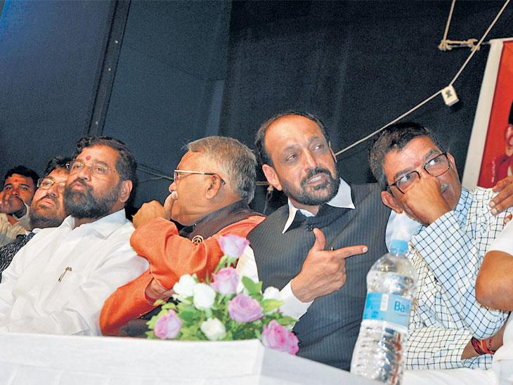 विधान परिषद : फुटलात तर याद राखा; उमेदवारी अर्ज भरताच शिवसेना नेत्यांकडून मतदारांना तंबी औरंगाबाद,Aurangabad - Divya Marathi