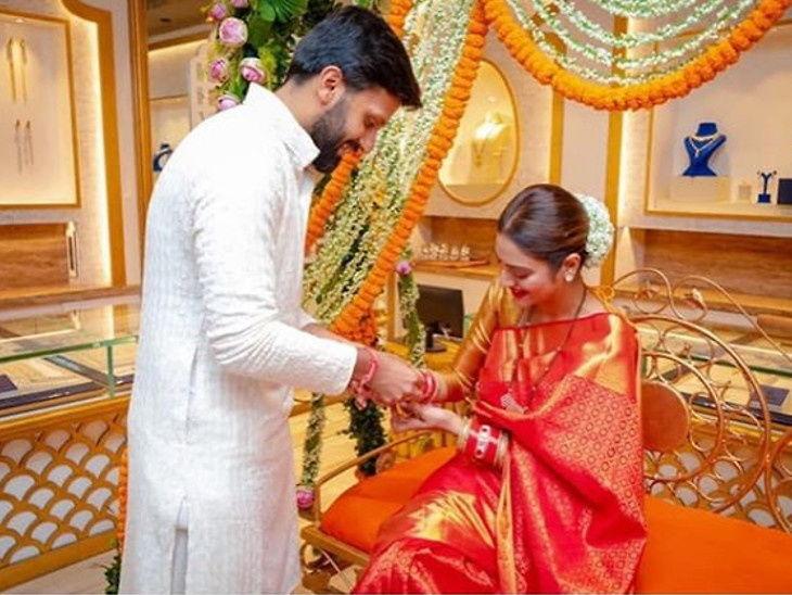 लग्नानंतर पहिल्यांदा तीज हा सण साजरा करत आहे अभिनेत्री आणि खासदार नुसरत जहां, सोशल मीडियावर झाली ट्रोल देश,National - Divya Marathi