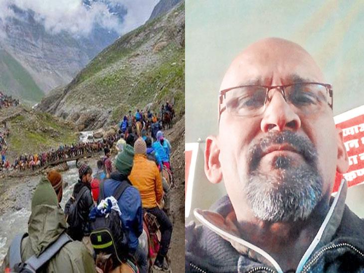 काश्मीर साेडण्याचे आदेश; यात्रेकरू, पर्यटक धास्तावले; अमरनाथ यात्रामार्गावर खाद्यपदार्थांची दुकाने, लंगरही तातडीने केले बंद| - Divya Marathi
