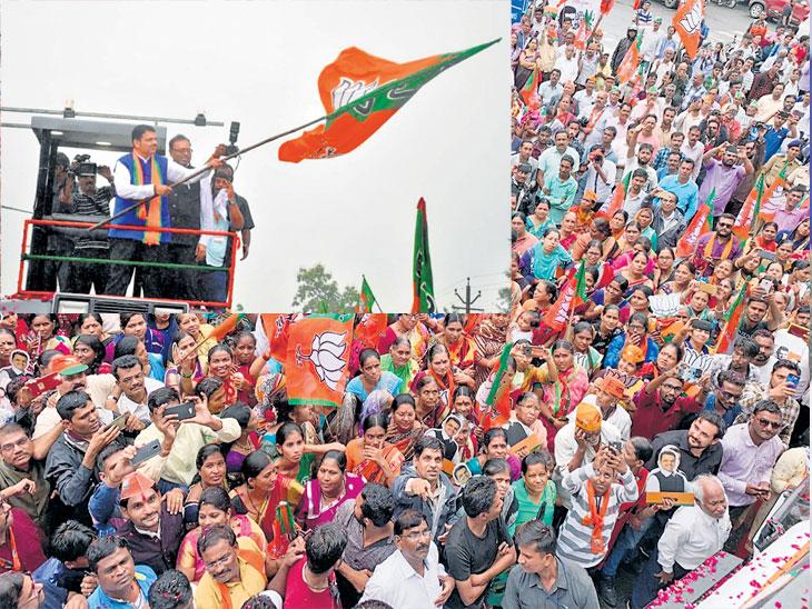 महाजनादेश यात्रा : पुन्हा मुख्यमंत्री झालो तर महाविकास : फडणवीस  - Divya Marathi