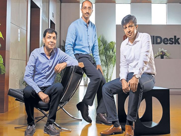 Friendship Day Special : बिलडेस्क : ३ मित्रांनी सोबत सोडली नोकरी, आजही एकाच केबिनमध्ये एकत्र बसतात ओरिजनल,DvM Originals - Divya Marathi
