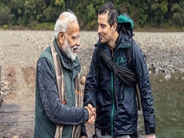 Man vs Wild: बिअर ग्रील्स आणि मोदींची जोडी ठरली हिट; सोशल मीडियावर व्हायरल झाले असे मीम्स| - Divya Marathi