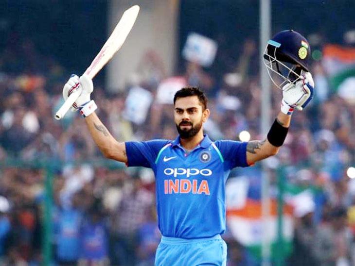 काेहली पदार्पणापासून वनडे, टी-२० मध्ये नंबर वन; इतर फलंदाज आहेत त्याच्या मागे  - Divya Marathi