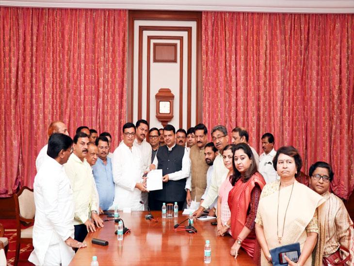 राज्यातील पूरस्थितीबाबत काँग्रेसच्या शिष्टमंडळाने घेतली मुख्यमंत्र्यांची भेट; चर्चा करून मागण्यांचे दिले निवदेन मुंबई,Mumbai - Divya Marathi
