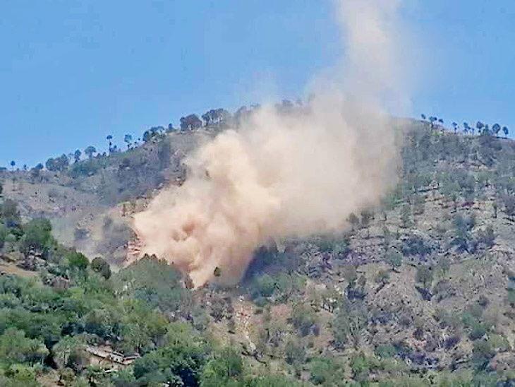 पाकच्या गोळीबारात जवान शहीद, भारताने पाकिस्तानी चौकी उडवली  - Divya Marathi