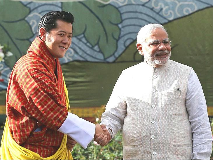 पंतप्रधान नरेंद्र माेदी भूतानमध्ये विद्यार्थ्यांना मार्गदर्शन करणार| - Divya Marathi