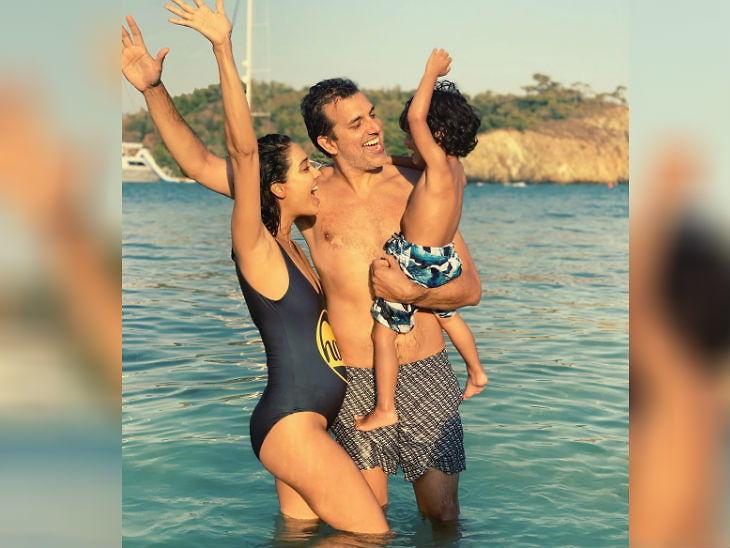दुसऱ्यांदा आई होणार आहे अभिनेत्री लीसा हेडन, फोटो शेअर करून दिली नव्या सदस्यांची आनंदवार्ता| - Divya Marathi