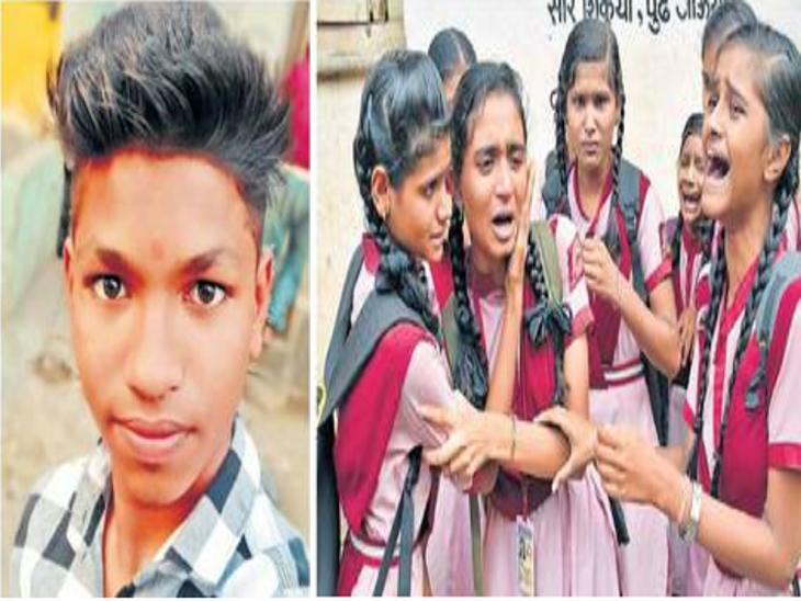 दहावीतील विद्यार्थ्याचा वर्गातच संशयास्पद मृत्यू, व्हिसेरा राखीव अभिनव विद्यालयात घडलेला प्रकार जळगाव,Jalgaon - Divya Marathi