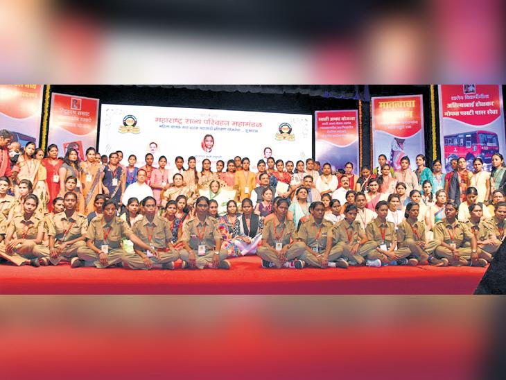 एसटी चालवण्यासाठी राज्यातील 163 महिला सज्ज, 21 आदिवासी कुटुंबातील|पुणे,Pune - Divya Marathi