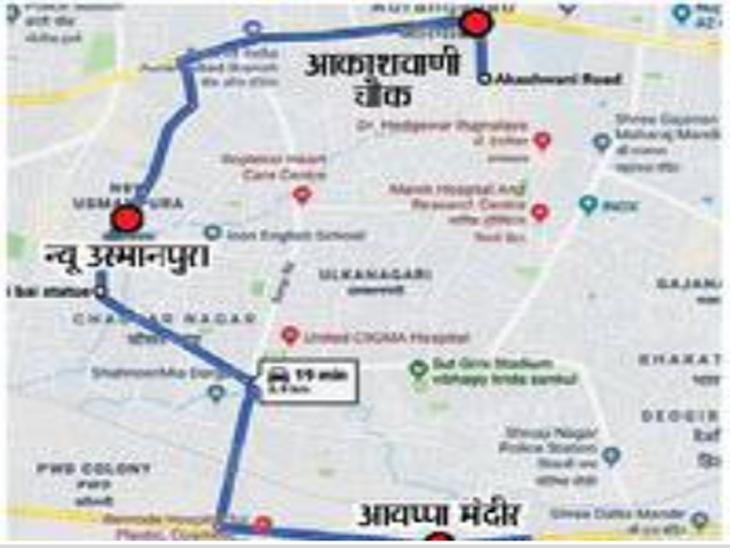 सव्वा तासामध्ये ७८ पोलिस पथकांच्या नाकावर टिच्चून लांबवली ३ मंगळसूत्रे औरंगाबाद,Aurangabad - Divya Marathi