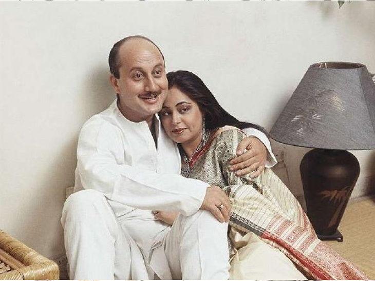 34 व्या अॅनिव्हर्सरीला अनुपम खेर यांनी शेअर केले लग्नाचे फोटो, लिहिले - 'वाटते जसे कालचीच गोष्ट आहे'| - Divya Marathi