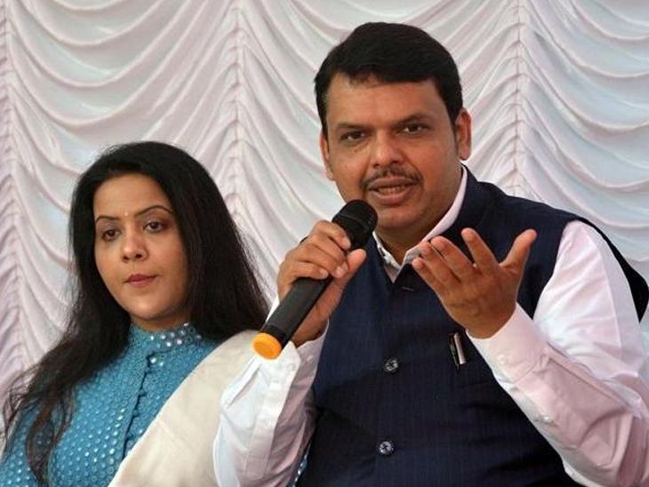 मुख्यमंत्री देवेंद्र फडणवीस आणि पत्नी अमृता फडणवीस अडचणीत ? 'ईडी'मध्ये तक्रार दाखल|मुंबई,Mumbai - Divya Marathi