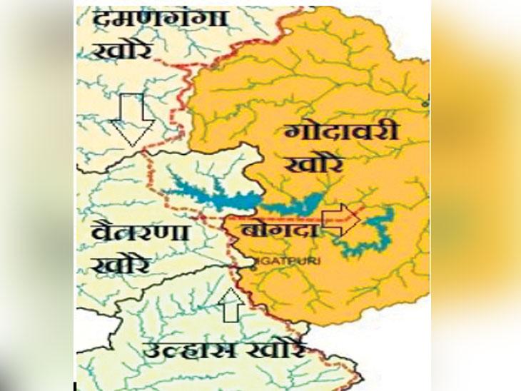 दिव्य मराठी एक्सक्लुझिव्ह : वैतरणा ते दारणापर्यंत २५ किमी बोगद्याद्वारे २७ टीएमसी पाणी आणण्याचा प्रस्ताव तयार|औरंगाबाद,Aurangabad - Divya Marathi