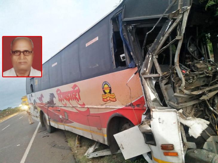 मोहोळ : शिवशाही बस व ट्रकचा अपघात, एका माजी सैनिकाचा मृत्यू; अकरा जण जखमी सोलापूर,Solapur - Divya Marathi
