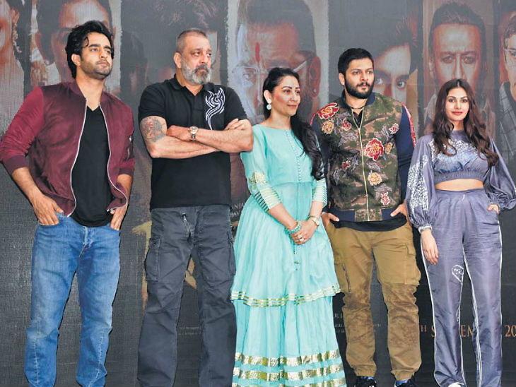 संजय दत्त म्हणाला - 'वडिलांच्या आयुष्यावर बनवणार चित्रपट, त्यांचा प्रवास खूप शानदार राहिला आहे'| - Divya Marathi