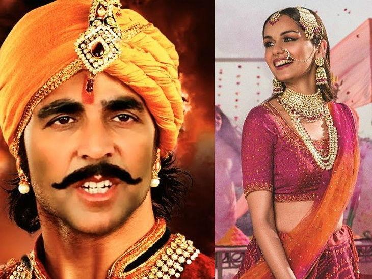 अक्षय कुमारचा आगामी चित्रपट 'पृथ्वीराज चौहान'मध्ये संयोगिताची भूमिका साकारणार मानुषी छिल्लर | - Divya Marathi