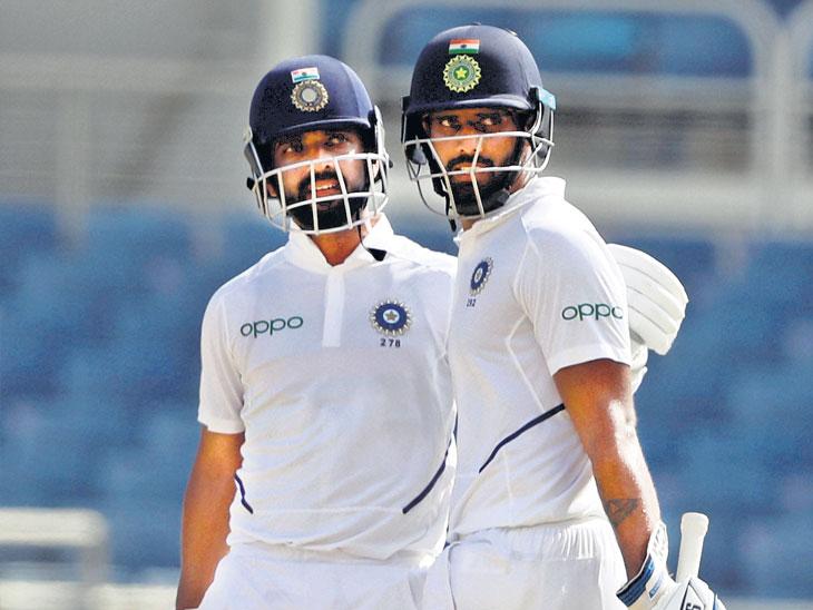 दुसरी कसाेटी : भारताचा सलग कसोटी विजयाचा चौकार, वेस्ट इंडिजवर २५७ धावांनी विजय मिळवून पराक्रम| - Divya Marathi