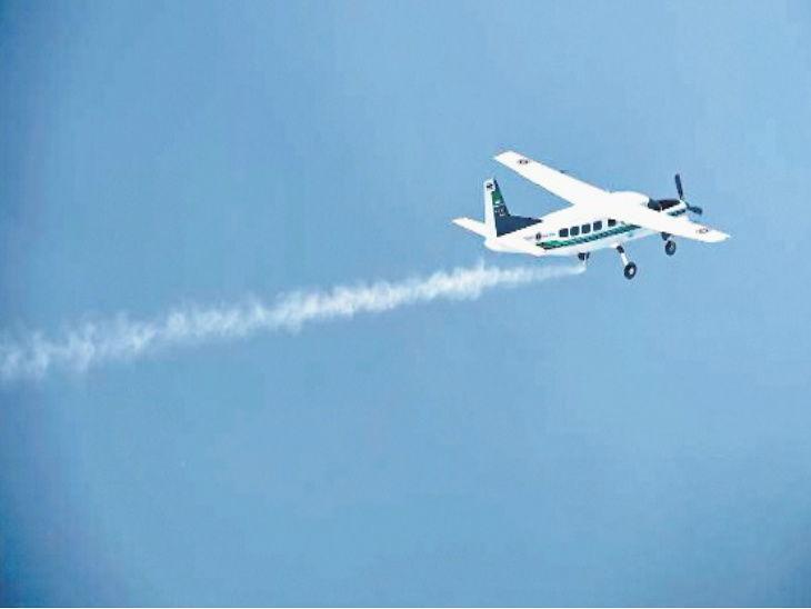 6200 उंचीवर ट्रेनर बेशुद्ध पडला, पहिल्यांदाचा विमान उडवणाऱ्या विद्यार्थ्याना केली सेफ लँडींग  - Divya Marathi