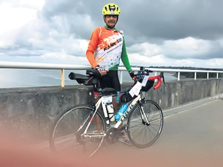 लेफ्टनंट अनिल पुरी १२०० किमी लांब सायकल स्पर्धा ९० तासांत पूर्ण करणारे ठरले पहिले भारतीय| - Divya Marathi