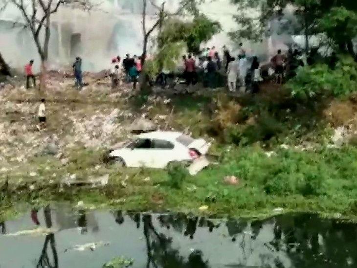 पंजाबमध्ये फटाक्याच्या कारखान्यात भीषण स्फोट; 21 जणांचा मृत्यू तर अनेकजण गंभीर जखमी, मृतांचा आकडा वाढण्याची शक्यता  - Divya Marathi