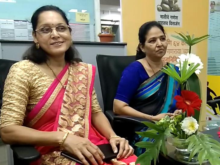 DvM Talk Show: पुष्परचनेमुळे आळस निघून जाऊन घरातील वातावरण राहते आनंदी|जळगाव,Jalgaon - Divya Marathi
