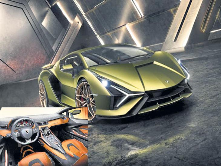 लँबोर्गिनी 'फ्रँकफर्ट मोटर शो' मध्ये लाँच करणार पहिली हायब्रीड कार सियान| - Divya Marathi