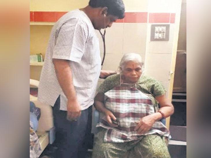 ५४ वर्षांपासून मूल होण्याची होती अपेक्षा  ७४ वर्षीय महिलेने दिला जुळ्याला जन्म| - Divya Marathi