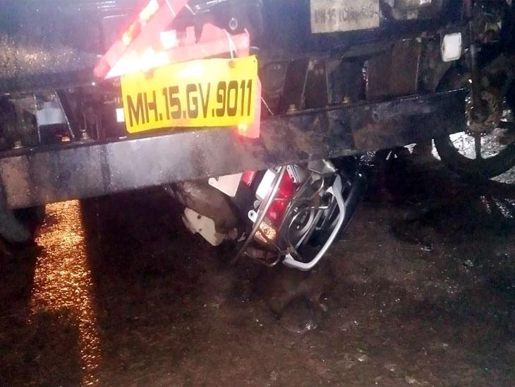 Accident :  पुणे-ताम्हिणी मार्गावर भरधाव ट्रकने दोन दुचाकींना उडवले; 4 जण ठार तर 1 गंभीर|पुणे,Pune - Divya Marathi