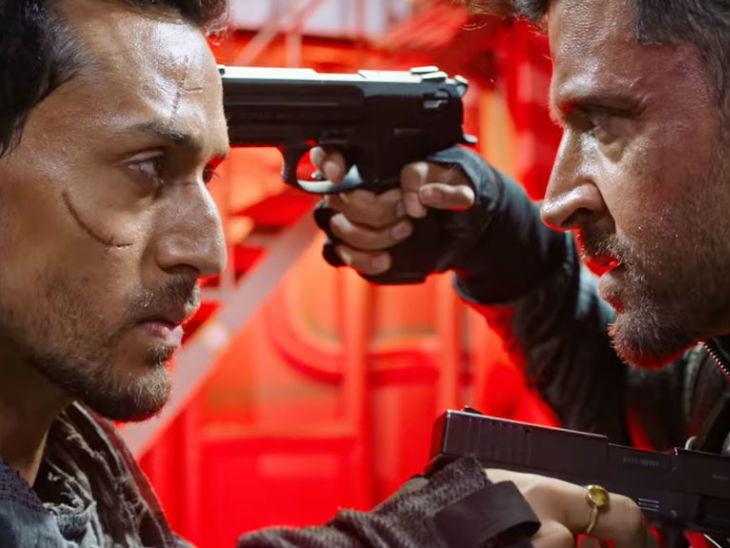 बिहाइंड द सीन : प्रचंड मोठ्या आइस ब्रेकर शिपवर शूट झाला ऋतिक - टायगरचा फायनल फाइट सीन| - Divya Marathi