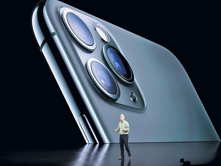 तीन रिअर कॅमेऱ्यांसह अॅपलने तीन नवे फोन आणले, प्रथमच स्ट्रीमिंग सर्व्हिस अॅपल टीव्ही + लाँच| - Divya Marathi