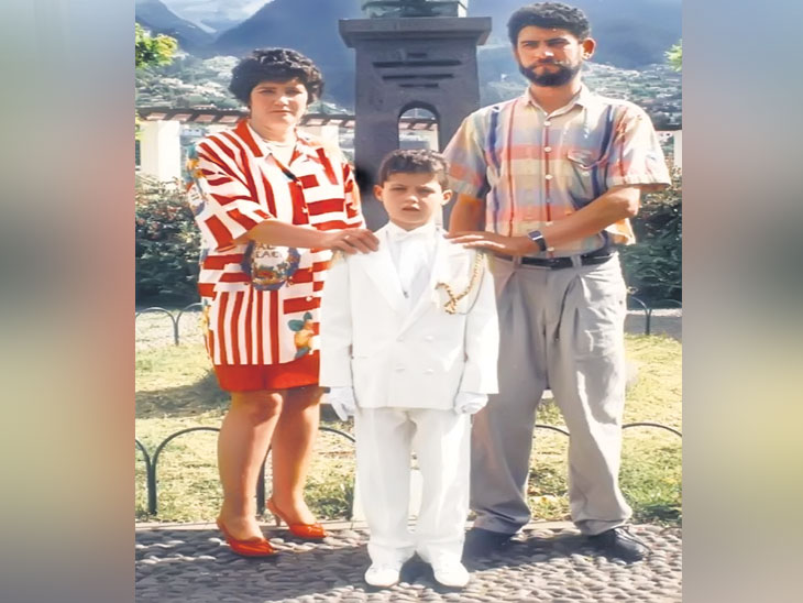 पाेर्तुगालच्या सुपरस्टार राेनाल्डाेने कुटुंबीय, खासगी आयुष्य, प्रतिस्पर्धी मेसीवर केली चर्चा  - Divya Marathi