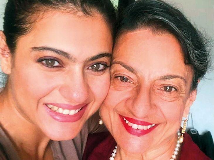 आई तनुजा यांच्या वाढदिवसानिमित्त काजोल म्हणाली - लहानपणी आईचा खूप मार खाल्ला आहे..'| - Divya Marathi