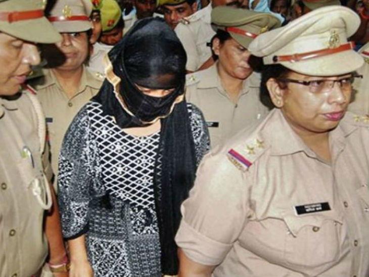 चिन्मयानंदवर लैंगिक शोषणाचे आरोप करणाऱ्या विद्यार्थिनीला अटक, खंडणी मागितल्याचे आरोप|देश,National - Divya Marathi