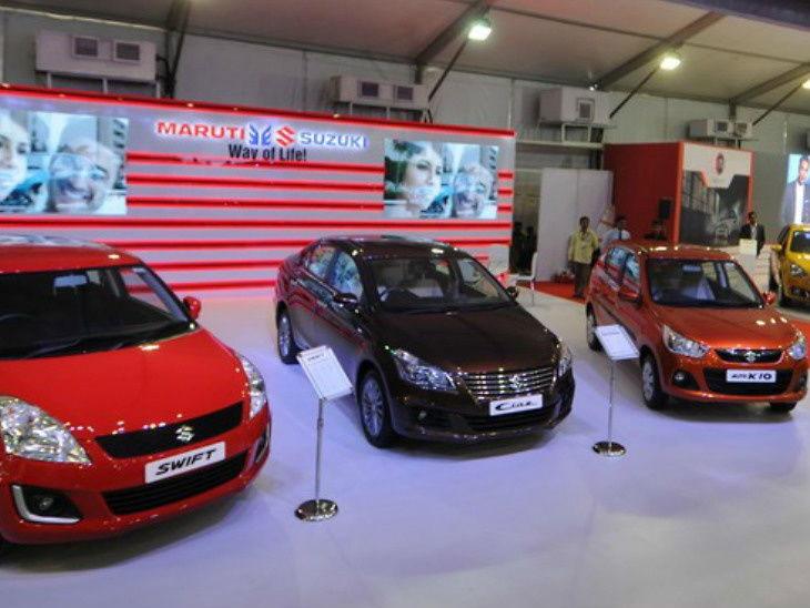 मारुती सुझुकीने 10 गाड्यांच्या किंमतीत केली 5 हजार रुपयांची कपात; नवे दरही लागू| - Divya Marathi
