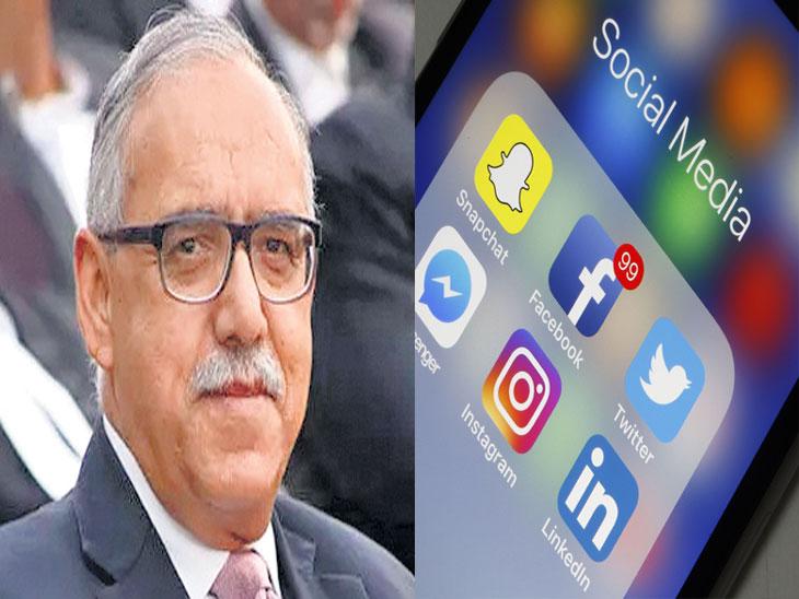 सोशल मीडियावर सुप्रीम कोर्ट चिंतित; स्मार्टफोन न वापरता फीचर फोन वापरण्याचा विचार करतोय : न्या. गुप्ता| - Divya Marathi