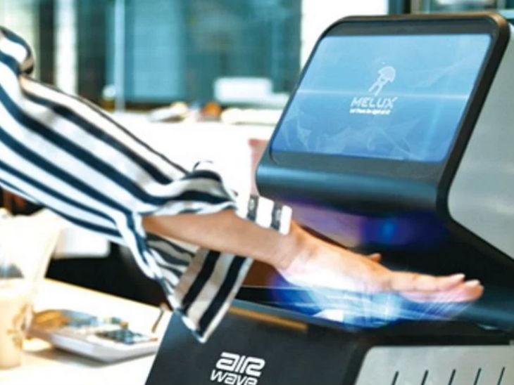 हातावरील नसांच्या मदतीने अवघ्या 0.3 सेकंदात होईल व्यक्तीची ओळख, चीनी कंपनीने बनवले स्कॅनिंग सिस्टीम| - Divya Marathi