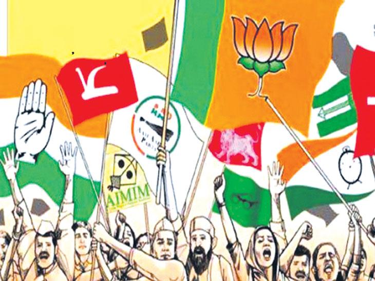 मागच्या विधानसभा निवडणुकीत पाच पक्षांकडून ५२४ कोटींचा खर्च|देश,National - Divya Marathi