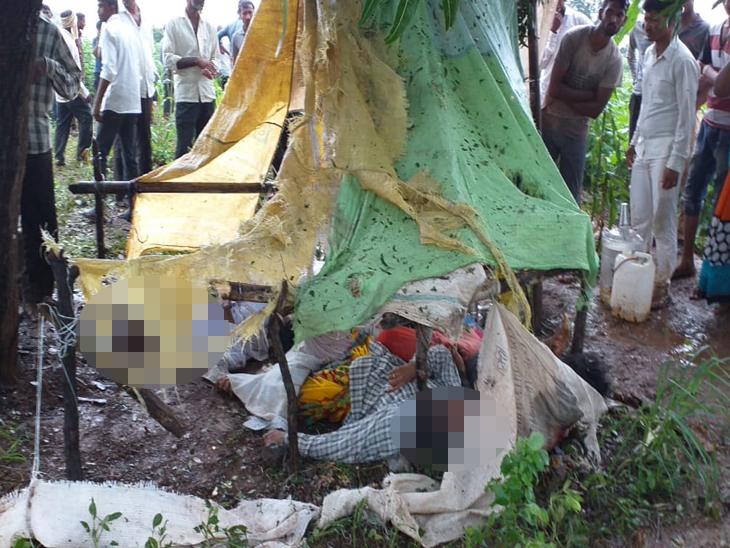जळगाव जिल्ह्यात अंगावर वीज कोसळ्याने 5 जणांचा मृत्यू,  एकाच कुटुंबातील चौघांचा समावेश|जळगाव,Jalgaon - Divya Marathi