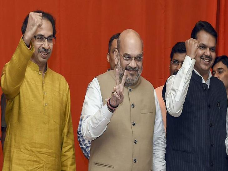 दिल्लीत ठरलं : भाजप १४४, शिवसेना १२६ जागा लढवणार; मित्रपक्षांना १८ जागा|देश,National - Divya Marathi